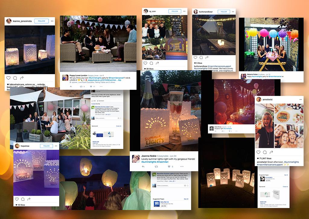 Macmillan_Summer Lights_social posts